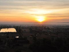 ビアラオ便り~2013年1月1日ワットプーから眺める初日の出