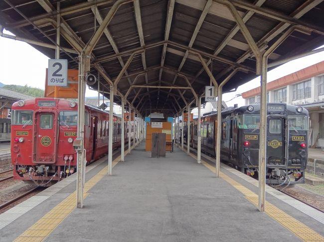 リュックを背負って、電車とバスを乗り継いでの旅が好きな私にとって、九州はとっても魅力的♪<br />以前から乗りたかった「指宿のたまて箱」や「しんぺい号」に乗っての九州旅行はとっても楽しかったです。