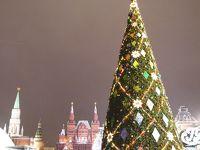 きらめきの冬のモスクワ一人旅