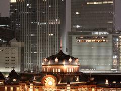 カレッタ汐留「ぼてじゅう燦」素敵な出会い&イルミネーション「リュミエの森」・東京駅舎のライトアップ編☆東京ステーションホテルに泊まりたい…新たな時代の東京1泊3日旅
