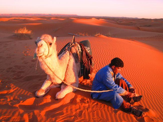 中2の娘と女子二人旅♪サハラ砂漠の真ん中で年越しパーティ【モロッコ4日目】