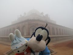 グーちゃん、インドへ行く!(霧のフユマーン廟①編)