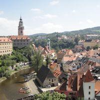 行きあたりばったり、ヨーロッパ周遊一人旅2012 Vol.27 ボヘミアの小さな町、チェスキークルムロフ