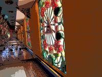 ベトナム タイニン カオダイ教の総本山の礼拝堂を訪ねる 2013冬