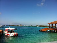 2012年末はアラビア半島&スリランカ&おまけの計7ヶ国周遊10日間の旅(6) なんと!普通ないでしょ?!水コテなしのモルディブ日帰り