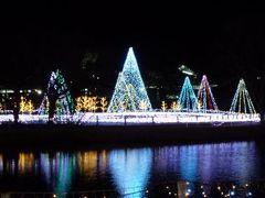 冬の軽井沢 スキーバカンス♪ Vol1(第1日目夜) ☆軽井沢ショッピングプラザの美しい夜景♪