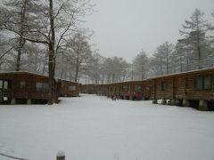 冬の軽井沢 スキーバカンス♪ Vol4(第4日目) ☆美しい雪の軽井沢♪ 降りしきる雪の中 東京へ帰る♪