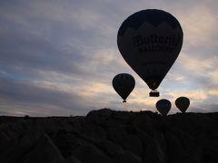 年末トルコへ② カッパドキアで気球!そして一日ツアー
