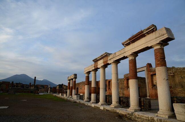 イタリア二都訪問・ナポリとフィレンツェ 【2】ポンペイで古代ローマのすごさを実感