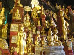 インレー湖周辺の遺跡巡り ① ピンダヤ洞窟寺院