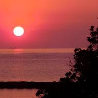2013年、年の初めの伊豆・箱根 vol. 3 土肥金山に恋人岬、最後は空を真っ赤に染めるサンセット♪