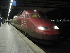2012年12月 トルコ航空で飛ぶオランダ・ベルギー・トルコ(8 高速列車タリスでブリュッセルへ)