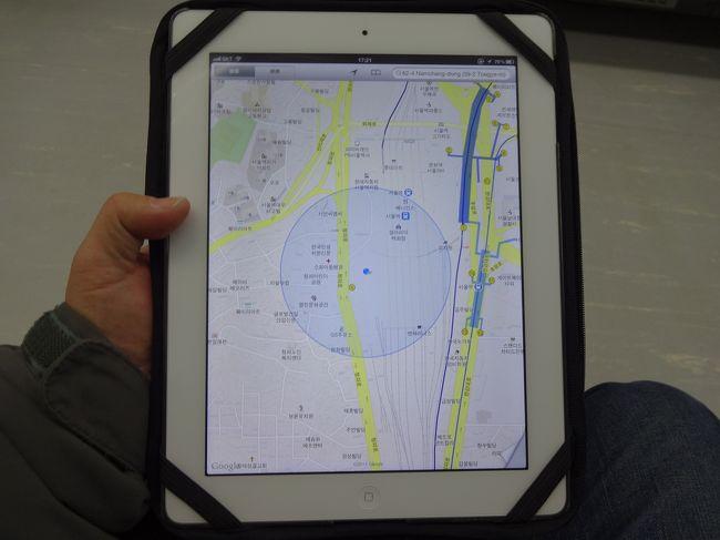 韓国ソウル市内の観光するのに携帯電話とiPadを使いグーグルマップを使い市内観光に出かけた。携帯電話には現地の携帯SIMを使い更にはWiFiルーターのeggを使い常時接続でiPad上のグーグルマップで細かいリアルタイム地図を使い観光に大いに助かった。<br /><br />準備編に続きソウル市内での実際の使い勝手などを比較しての観光である。今後現地で日本と同様に携帯の地図ソフトを使いながら観光するならこんな方法がある事の紹介も兼ねての旅行記である。<br /><br />別にこの方法と同じにする事もないがWiFiルーターを使った携帯を利用する方法は韓国だけに限らず世界中で利用できるので少しでも参考になれば幸いである。<br /><br />この旅行記の前篇に当たる姉妹旅行記はこちら。<br /><br />プリペイドSIM利用の旅行記はこちら<br />http://4travel.jp/traveler/magic_takashi/album/10749177/<br /><br />eggを利用した旅行記はこちら<br />http://4travel.jp/traveler/magic_takashi/album/10749323/