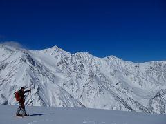 白馬八方尾根スノーハイク ~~雪化粧をまとった白馬岳を臨む~~