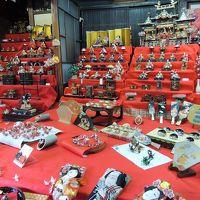 雛飾りの日奈久温泉