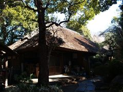 横浜の萱葺き屋根