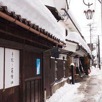 茅葺き屋根と雪景色を求めて・・・ ② ~雪降りしきる中、レトロな町並みの七日町を散策(通っただけ・・かな・・(T_T)) 2日目~