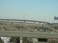 bkk2回7木曜1朝天津から北京まで高速道路3回高速料金を払う