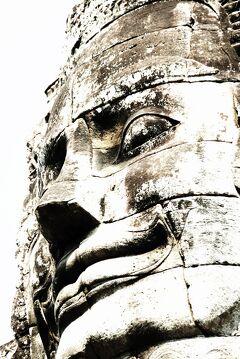 Cambodia クメールの微笑み (12/33) シェムリアップ アンコール・トム  ダイジェスト(1月26日)