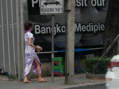 bkk2回9土曜3朝長いエカマイ通りスクンビット通り方向にソイ5まで