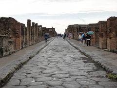 行きあたりばったり、ヨーロッパ周遊一人旅2012 Vol.52 雨のポンペイ遺跡