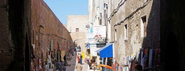 モロッコ周遊� 大西洋を望む港町エッサウ...