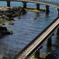 Solitary Journey [1160] 海上散歩?はなぐり海岸遊歩道(海上プロムナード)をゆっくりと歩く<三日月形の離島、笠戸島>山口県下松市