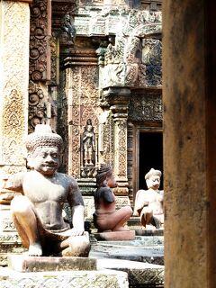 Cambodia クメールの微笑み (22/33) シェムリアップ バンテアイ・スレイ ダイジェスト(1月27日)