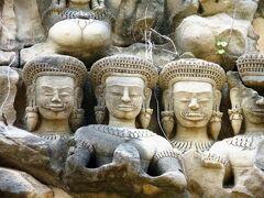 Cambodia クメールの微笑み (25/33) シェムリアップ バンテアイ・サムレと甘いきゅうりの伝説(1月27日)