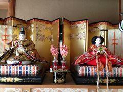 ☆雛祭り☆ただ今、孫と京都を彷徨っています(^^)・と・(再編集・両親を偲んで・・久しぶりに飾りました)