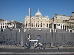 折りたたみ自転車をかついでイタリア旅行(7日目 ローマ)