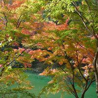 祖谷渓の紅葉は見事でした!◆2012年秋/神戸→琴平→祖谷→有馬の旅≪その6≫