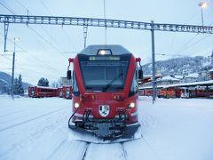 2013.02 冬のスイス鉄道の旅 ベルニナ線