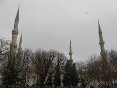 2012年12月 トルコ航空で飛ぶオランダ・ベルギー・トルコ(13 サバサンドとケバブ、ブルーモスク)