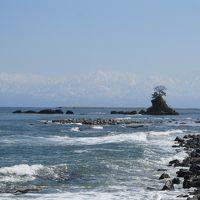 富山県氷見 『海越しに望む立山連峰』の絶景が見たい!…岐阜から九殿浜温泉「ひみのはな」へ。