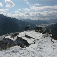 冬の竹田城
