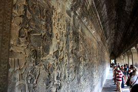 美しきアプサラが微笑むアンコール遺跡へ in Siem Reap★2012 02 2日目【REP:アンコールワット編】