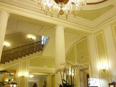 春の優雅なイタリア中部・サンマリノ巡り旅♪ Vol2(第1日目夜) ☆ボローニャ:優雅なホテル「Grand Hotel Majestic gia Beglioni」のジュニアスイートルーム♪