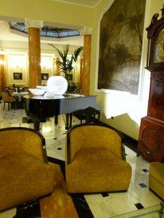 春の優雅なイタリア中部・サンマリノ巡り旅♪ Vol23(第3日目昼) ☆ボローニャ:「Grand Hotel Majestic gia Baglioni」のレストランでランチ♪ホテル内を探検♪