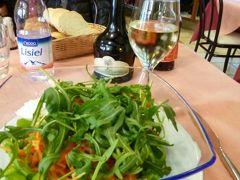 春の優雅なイタリア中部・サンマリノ巡り旅♪ Vol32(第4日目昼) ☆サンマリノ:旧市街内のカフェレストラン「Del Ghetto」でサラダランチ♪そしてハイライトの要塞へ♪