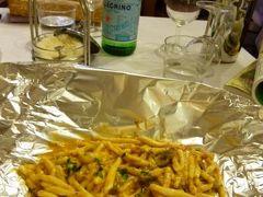 春の優雅なイタリア中部・サンマリノ巡り旅♪ Vol47(第5日目昼) ☆ウルビーノ:ランチは「La Vecchia Fornarina」でウルビーノ郷土料理を頂く♪