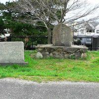 日本の旅 関西を歩く 大阪府寝屋川市、「茨田堤(まんだのつつみ)」の碑周辺