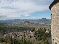 春の優雅なイタリア中部・サンマリノ巡り旅♪ Vol57(第6日目午前) ☆サン・レオ:「ルパン3世 カリオストロの城」のモデルとなったお城(Fortress)♪周囲の素晴らしい絶景を堪能♪