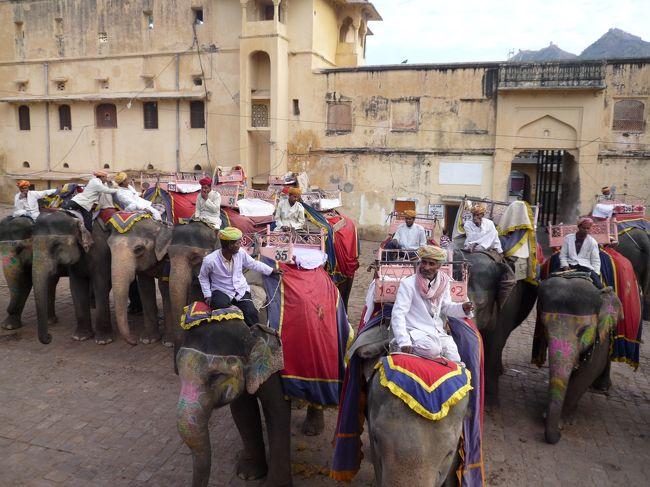 インドで世界遺産巡り! その4 ジャイプールで象に乗ってアンベール城観光編