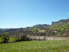 春の優雅なイタリア中部・サンマリノ巡り旅♪ Vol60(第6日目昼) ☆サン・レオ~サンマリノ:サン・レオから素晴らしい風景の中サンマリノへ帰る♪
