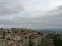 春の優雅なイタリア中部・サンマリノ巡り旅♪ Vol75(第7日目午後) ☆ペルージャ:サンタンジェロ城門の屋上からペルージャの絶景を眺めて♪