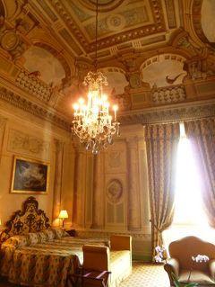 春の優雅なイタリア中部・サンマリノ巡り旅♪ Vol84(第8日目昼) ☆シエナ:優雅なホテル「Grand Hotel Continental」のジュニアスイートルームは驚愕の豪華さ♪