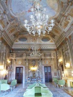 春の優雅なイタリア中部・サンマリノ巡り旅♪ Vol85(第8日目昼) ☆シエナ:優雅なホテル「Grand Hotel Continental」を探検♪豪華なサロンは凄すぎる~♪