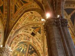 春の優雅なイタリア中部・サンマリノ巡り旅♪ Vol88(第8日目午後) ☆シエナ:至宝の「Duomo」の「Battistero」(洗礼堂)を観賞♪