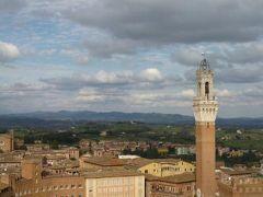 春の優雅なイタリア中部・サンマリノ巡り旅♪ Vol90(第8日目午後) ☆シエナ:素晴らしい絶景「Panorama dal facciatone」♪
